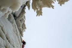 "Will Mayo on the sixth and final pitch of ""Dreamline."""