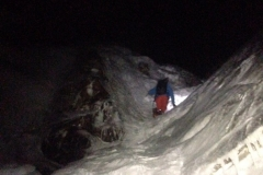 Justin on Pinnacle, hour 12