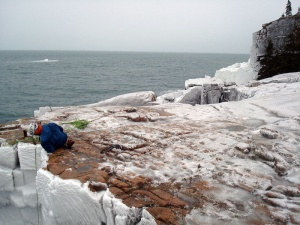 Acadia national park - Spray Ice 1