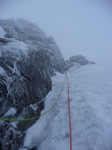 Where's the chimney? Stuart Lade finds cruiser climbing on Scabbard Chimney