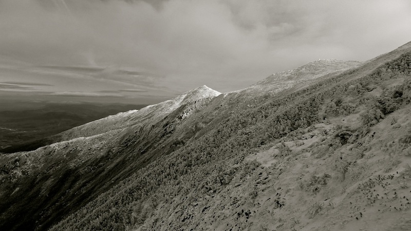 The top of King Ravine., looking toward Mt. Madison.