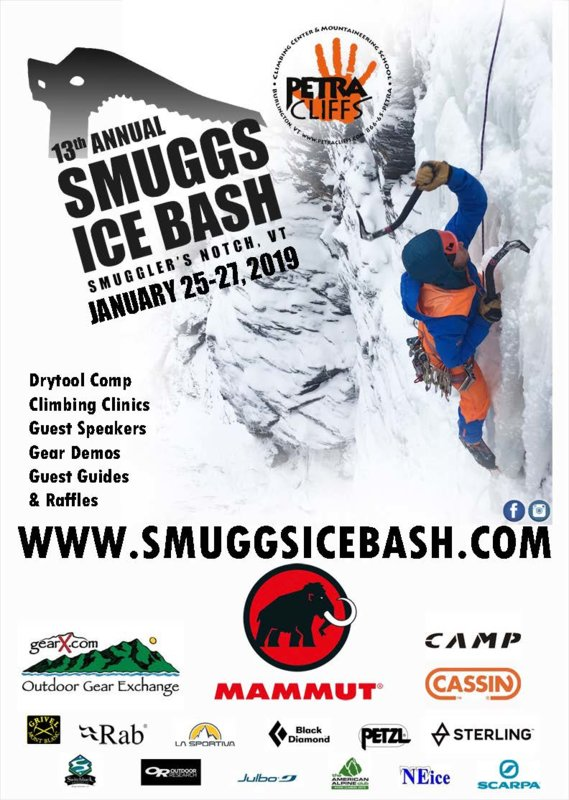 13th Annual Smuggs Ice Bash Poster